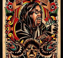Wolfie Portrait by wolfietattoo
