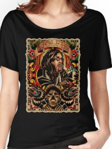 Wolfie Portrait Women's Relaxed Fit T-Shirt