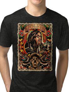 Wolfie Portrait Tri-blend T-Shirt