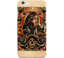 Wolfie Portrait iPhone Case/Skin