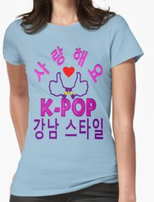 ㋡♥♫Love Gangnam Style Clothes & Stickers♪♥㋡ Womens Fitted T-Shirt