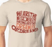Willy Wonka Hat Dreams - Brown Unisex T-Shirt