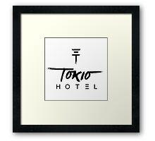 tokio hotel logo Framed Print
