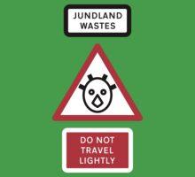 Jundland Wastes Road Sign Kids Tee