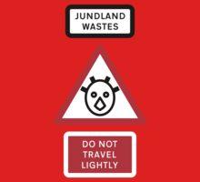 Jundland Wastes Road Sign One Piece - Short Sleeve