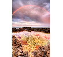 Rocks 'n' Rainbows Photographic Print