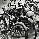 Bikes & Snow by delosreyes75