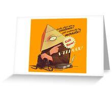 Mira-call Greeting Card