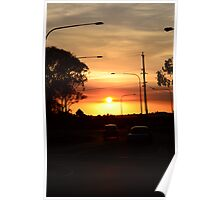 Sunset in Coolum, Queensland 2 Poster