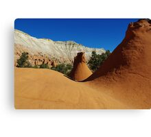 Particular rock formations, Utah Canvas Print
