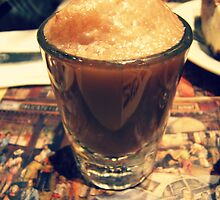 Chocolate Soda Shot ( 2nd Avenue Deli, NYC ) by emiliewho