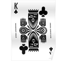 Chronos King of Clubs Poster