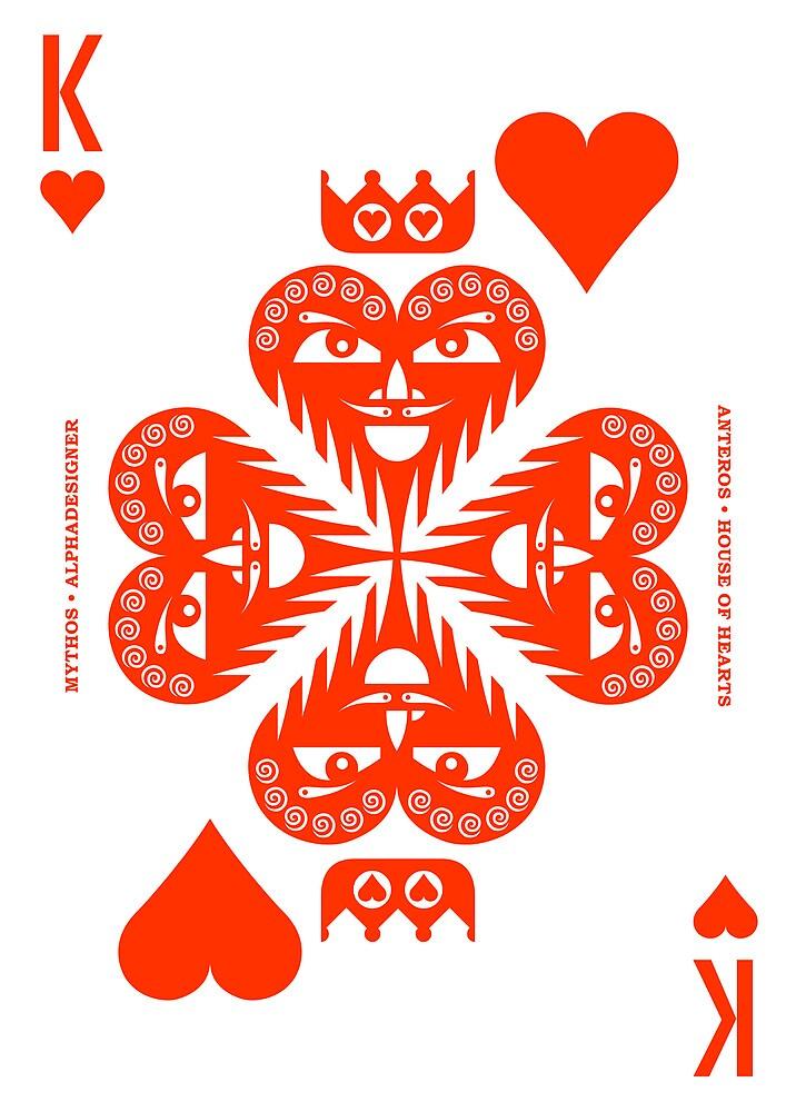 Anteros King of Hearts by Yanko Tsvetkov