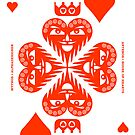 Anteros King of Hearts by Yanko Tsvetkov
