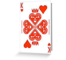 Anteros King of Hearts Greeting Card