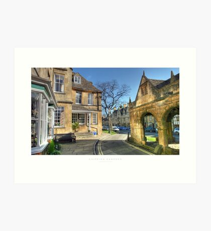 Chipping Campden, Gloucestershire  Art Print