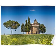 A Chapel In Tuscany Poster
