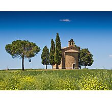 A Chapel In Tuscany Photographic Print