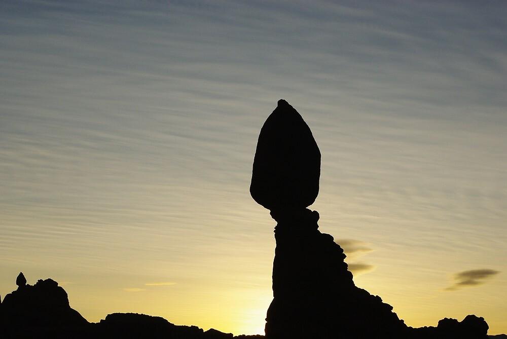 Balanced Rock by Claudio Del Luongo