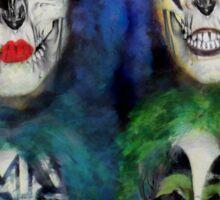 Macked skulls Sticker