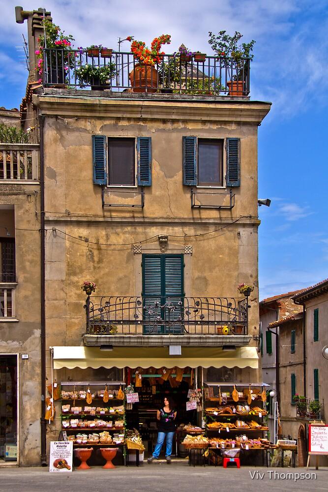 Grocery Store, Castiglione de Lago by vivsworld