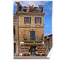 Grocery Store, Castiglione de Lago Poster