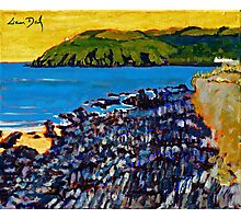 Red Strand Rocks, Cork Photographic Print