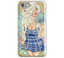 Trisha Pin-Ups: Sailor iPhone Case/Skin