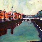 Liffey, Arran Quay and Ushers Quay - Dublin by eolai