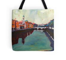 Liffey, Arran Quay and Ushers Quay - Dublin Tote Bag