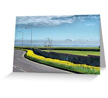 Coastal Road Lytham Greeting Card