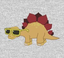 Cool Baby Dinosaur One Piece - Short Sleeve