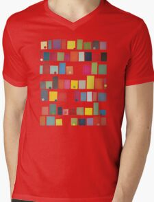 City Mens V-Neck T-Shirt