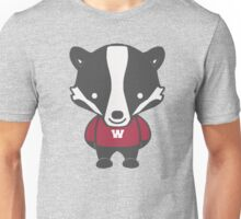 Badger Mascot Chibi Cartoon Unisex T-Shirt