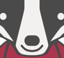 Badger Mascot Chibi Cartoon Sticker