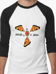 Atomic pizza Men's Baseball ¾ T-Shirt