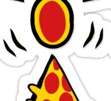 Atomic pizza Sticker