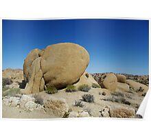 Rock Formation, Joshua Tree National Park, California Poster