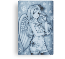 Winged Snow Lolita Canvas Print