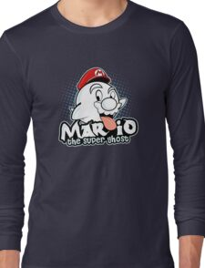 Mario : The Super Ghost Long Sleeve T-Shirt