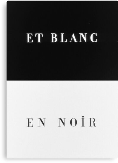 Et Blanc en Noir by dannyivan
