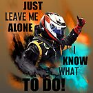 Just Leave Me Alone! Poster by evenstarsaima