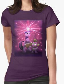 Twilight Sparkle Magic Womens Fitted T-Shirt