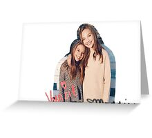 DANCE MOMS MADDIE AND KENZIE  Greeting Card