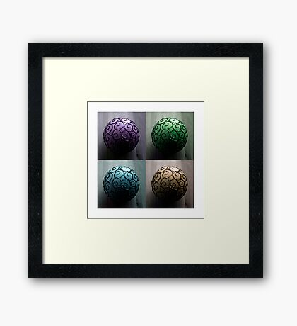 Symmetry within Symmetry Framed Print