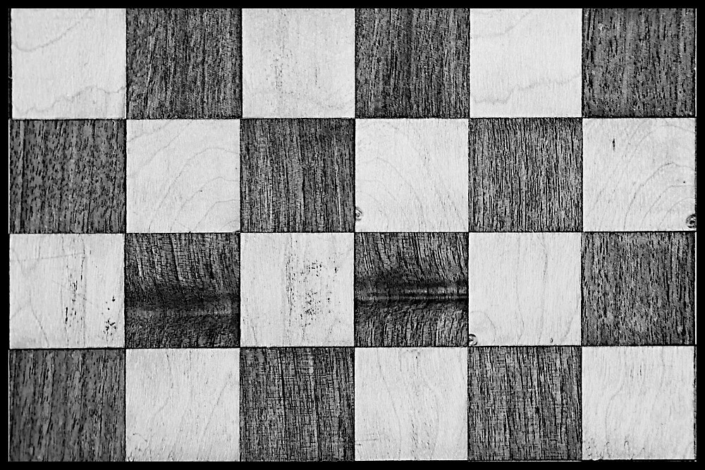 Symmetry 2 - chess by Andrew Robinson
