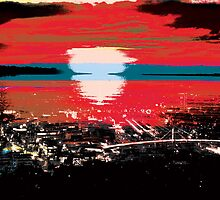 City's Last Sunset by Sam3161019