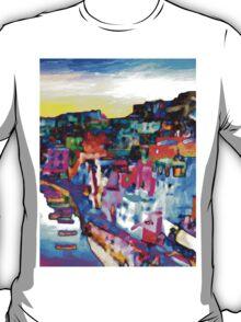 Night in Naples, Italy T-Shirt