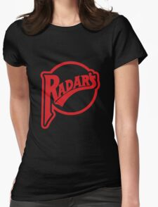The Classic Design Radars T Womens Fitted T-Shirt