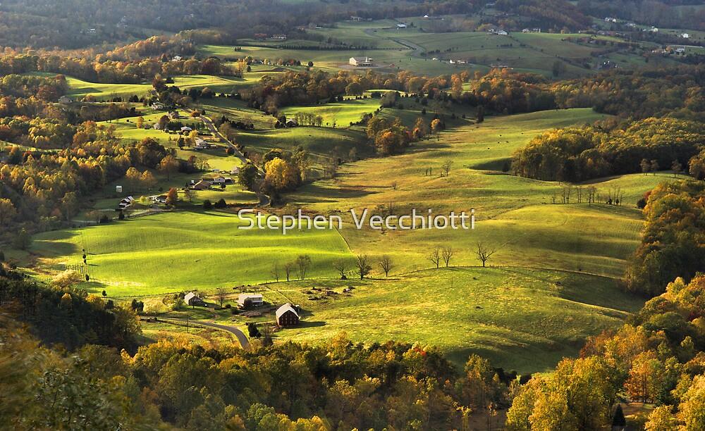 Shenandoah Valley Landscape by Stephen Vecchiotti